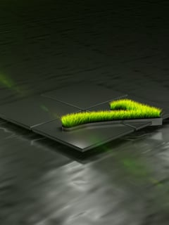 Green Se7en Mobile Wallpaper