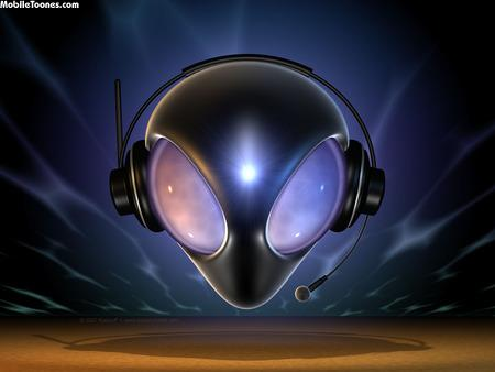 Radio Alien Mobile Wallpaper
