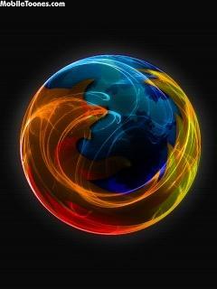 Firefox Crystal Mobile Wallpaper