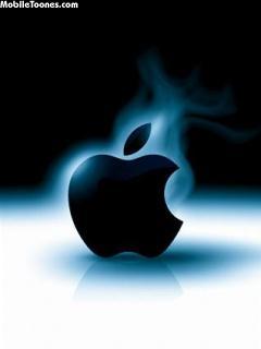 Smoking Apple Mobile Wallpaper