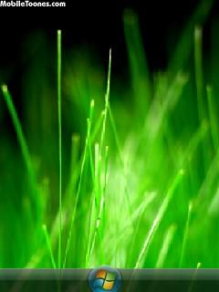 Windows Green Mobile Wallpaper