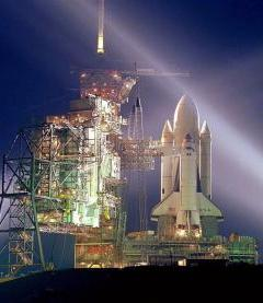 Space Shuttle Columbia Mobile Wallpaper