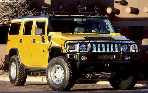 Hummer H2 Mobile Wallpaper