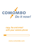 Comombo 3.0 softwares