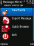 Message Mirror Lite For Symbian Phones V 1.20 softwares