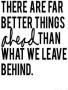 We Leave Behind wallpapers