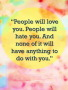 People Will Love You wallpapers