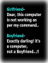 Girlfriend Vs Boyfriend wallpapers