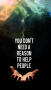 Help People IPhone Wallpaper wallpapers