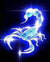 Blue Light Scorpion wallpapers