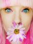 Pink Flower Girl wallpapers