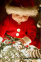 Cute Baby In Christmas wallpapers