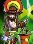Bob Marley Cartoon  wallpapers