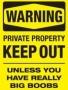 Warning wallpapers