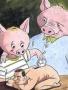 Pig Vs Human Xd wallpapers