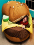 Burger Bed wallpapers