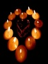Love Candles wallpapers