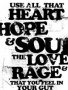 Heart Hope And Soul wallpapers