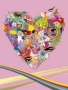 Colors Heart wallpapers