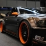 Black Orange Rim Car wallpapers