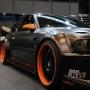 Black Orange Rim Car wallpapers