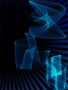 Blue Smoky Shapes Wallpaper wallpapers