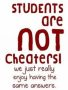 Students Not Cheaters wallpapers