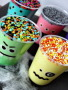 Monster Pudding Cups wallpapers