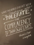 Tolerate wallpapers