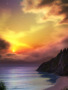 Sunset Scene wallpapers