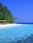 Beach And Blue Water wallpapers