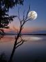 Moon And Lake wallpapers