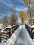 Winter Bridge wallpapers