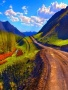 Road Mountain Free Mobile Wallpapers