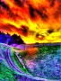 Colorful Fire Sky wallpapers