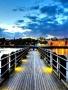 Beautiful Dock Lights wallpapers