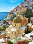 Mountain City Amalfi Coast Italy wallpapers