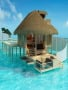 Clear Beauty House In Paradise wallpapers