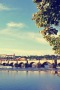 Bridge Nice Evening IPhone Wallpaper wallpapers