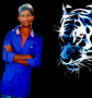 Amulya With Tiger wallpapers