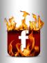 Facebook Fire Logo wallpapers