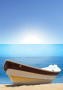Beached Boat wallpapers