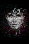 Digital Wire Face Girl IPhone Wallpaper wallpapers