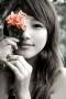 Sweet Girl Flower IPhone Wallpaper wallpapers