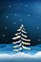 Snow Christmas Tree Balls IPhone Wallpaper wallpapers