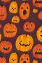 Halloween Pumpkins Pattern IPhone Wallpaper wallpapers