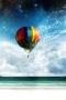 Air Balloon Shine Sky IPhone Wallpaper wallpapers