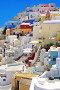 Santorini Oia Greece Houses IPhone Wallpaper wallpapers