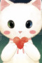 Cute Kitty Love Iphone Wallpaper wallpapers