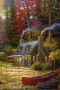 House In Nature & Alone Boat IPhone Wallpaper wallpapers